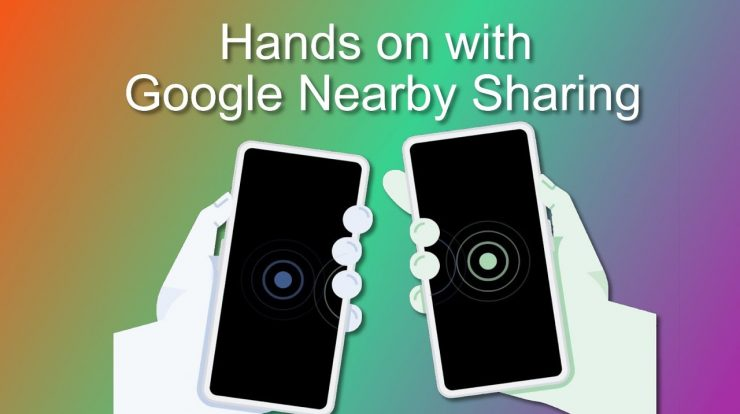 google-nearby-share-google-play'e-geldi
